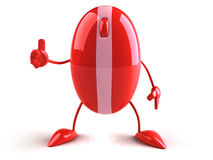 Optical mouse Stock Images