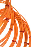 Optical multimode patch cable Royalty Free Stock Image
