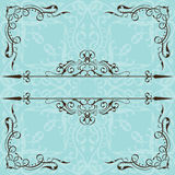 Optical ornate page Royalty Free Stock Photography