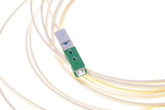 Optical patch cord for passive optical network Stock Image