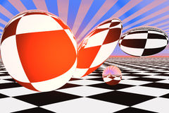 Optical Pop Art Stock Photo