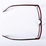 Optical red glasses Stock Image