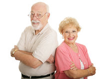 Optical Series - Attractive Seniors Stock Images