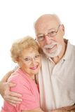 Optical Series - Happy Senior Couple Royalty Free Stock Images
