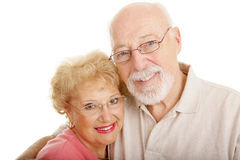 Optical Series - Seniors Closeup Stock Photography