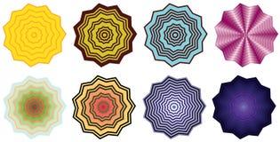 Optical shapes Stock Photo