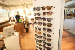 Optical shop Stock Photography