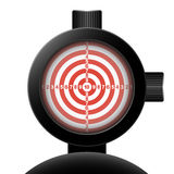 Optical sight. Vector Stock Photos