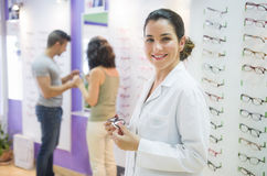 Optical store Royalty Free Stock Photography