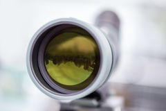Optical telescope lense Royalty Free Stock Photos