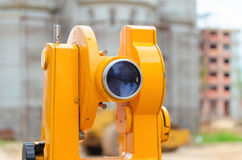 Optical theodolite Stock Images
