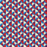 Optical tiles seamless pattern. Stock Image