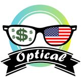 Optical. Vector for wallpaper picture Royalty Free Stock Image