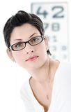 At the Optician Royalty Free Stock Photography