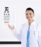 Optician / Optometrist Royalty Free Stock Image