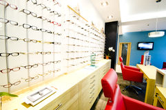 Optician shop Stock Image