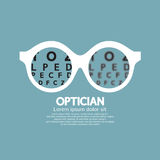 Optician, Vision Of Eyesight Stock Image