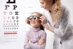 Optician Stock Photography