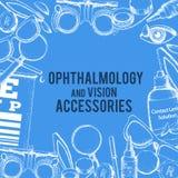 Optik und Sehschärfe Stockfoto