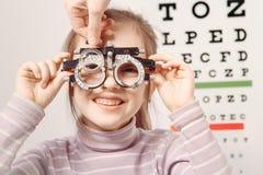 optiker Arkivfoto
