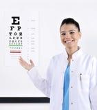 Optiker/optometriker royaltyfri bild