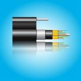 Optiklwl - kabel Stockbild