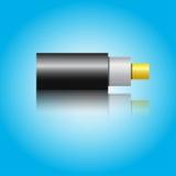 Optiklwl - kabel Lizenzfreie Stockfotos