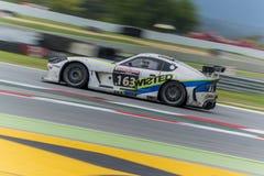 Optimaal Motorsport-Team Ginetta G55 24 uren van Barcelona Stock Afbeeldingen