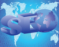 Optimierung Ihrer Sites Stockfotos
