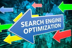 Optimisation de Search Engine Photo libre de droits