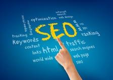 Optimisation de Search Engine Photographie stock libre de droits