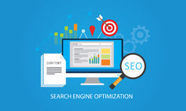 Optimisation de Search Engine photos stock