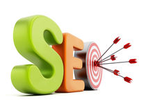 Optimisation de Search Engine de SEO Image libre de droits