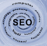Optimisation SEO de Search Engine Photographie stock libre de droits