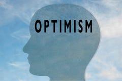 Optimismo - concepto de la personalidad libre illustration