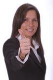 Optimistic Businesswoman Stock Photos