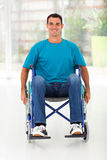 Optimistic handicapped man Royalty Free Stock Photography