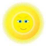 Optimistic sun Stock Photo