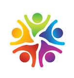 Optimistic Teamwork Logo Stock Photos