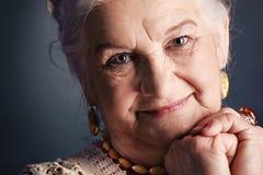 Optimistic woman Royalty Free Stock Photo