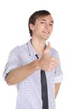 Optimistic young man Stock Photo