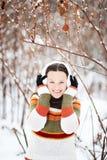 optimistisches Mädchen Lizenzfreies Stockfoto