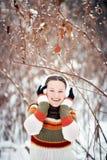 Optimistisches Mädchen Lizenzfreies Stockbild