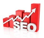 Optimização do Search Engine Fotografia de Stock Royalty Free