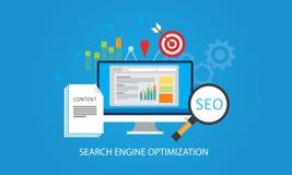 Optimização do Search Engine Fotos de Stock