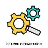 Optimización de la búsqueda ilustración del vector