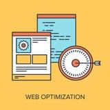 Optimización del web libre illustration