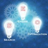 Optimización y éxito empresarial del Search Engine libre illustration