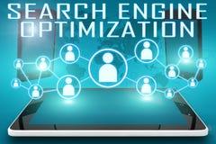 Optimização do Search Engine Fotos de Stock Royalty Free