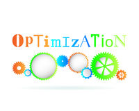 Optimization Gears Royalty Free Stock Image